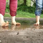 Op blote voeten lopen voor een goede houding