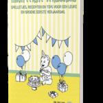 Boek mijn eerste verjaardag