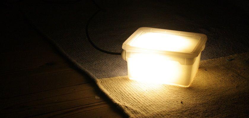 Zelf een lichtbox maken