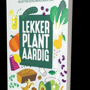 Scheurkalender voor 2021 boordevol heerlijke vegan recepten en leuke voedingsweetjes