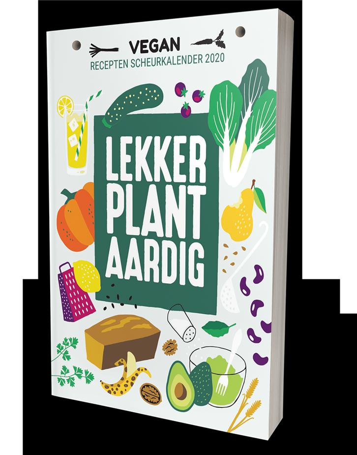 Lekker plantaardig, dé vegan scheurkalender van 2020!