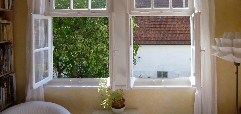 De woning regelmatig luchten is onvoldoende goede ventilatie