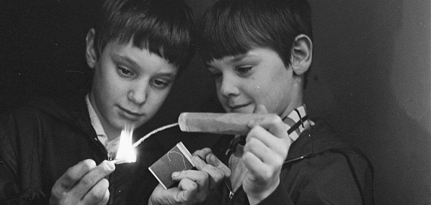 Kinderen moeten oppassen met vuurwerk