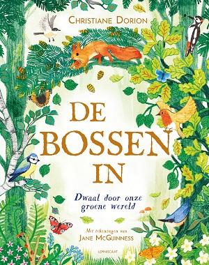 Voorlezen uit een prentenboek kan goed met dit prachtige plaatjesboek over bossen van de hele wereld