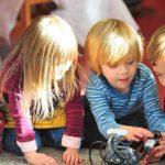 Nieuwsgierige kinderen leren graag