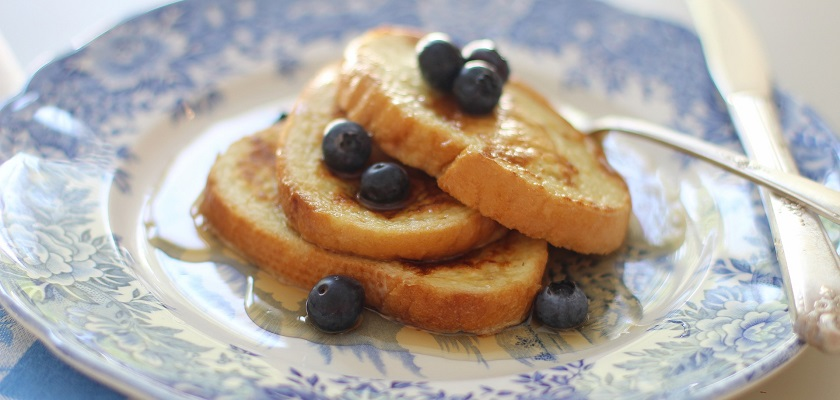 Van oud brood kun je lekkere wentelteefjes maken