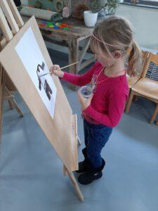 Je talenten tekenen en jezelf ontdekken is een leuke tekenoefening voor kinderen.