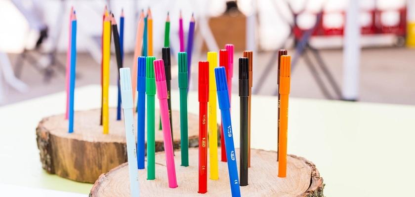 Met tekenen kun je je talenten en creativiteit ontwikkelen.