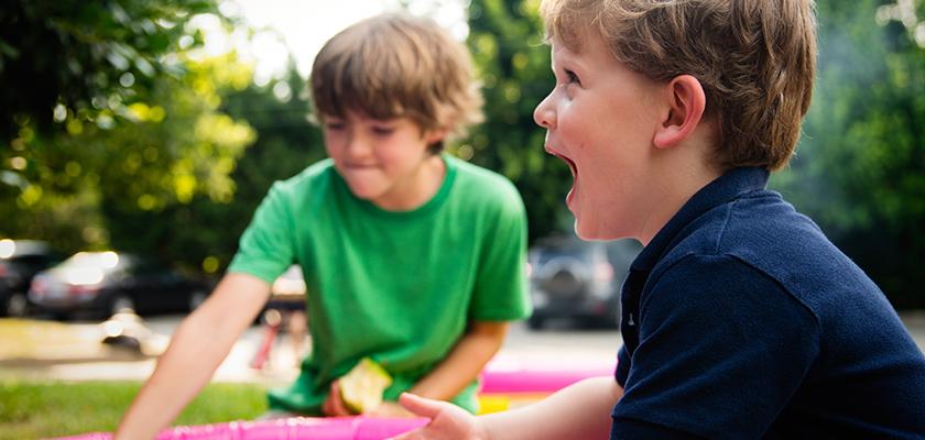 Buitenspelen belangrijk voor kinderen
