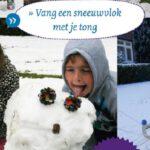In het boek Alle kinderen naar buiten staan ok natuuractiviteiten voor de winter