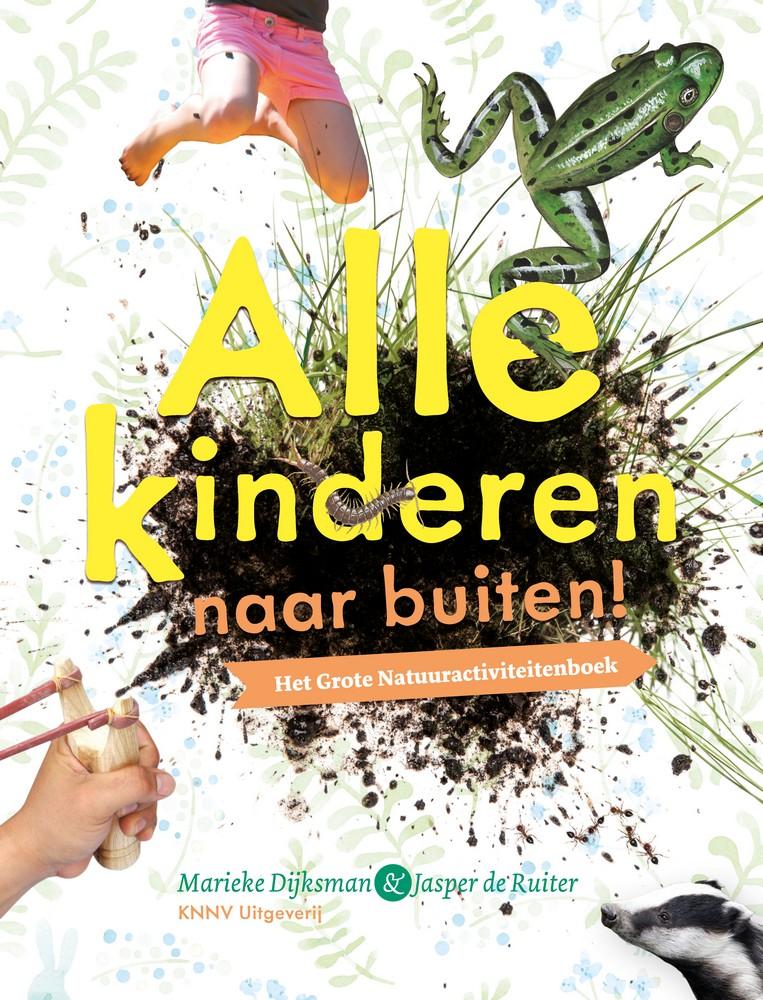 Boek met natuuractiviteiten voor kinderen