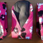 3 stuks maandverband, bij Menstruatiecups.nl kun je ook proefpakketten wasbaar maandverband bestellen.