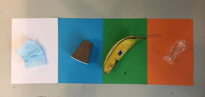 Met het afvalkleuremspel leren kinderen afval scheiden