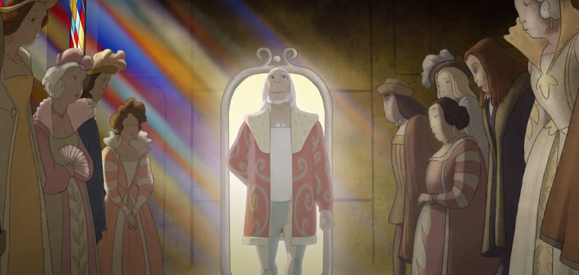 De Apenprins Franstalige animatiefilm met een boodschap.